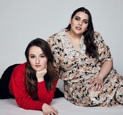 Kaitlyn Dever and Beanie Feldstein, Booksmart