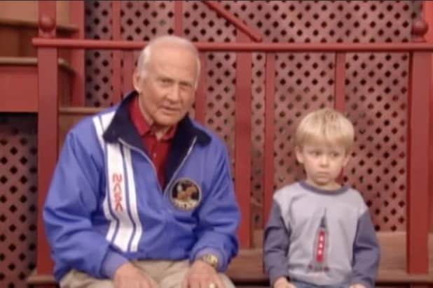 Buzz Aldrin Sesame Street