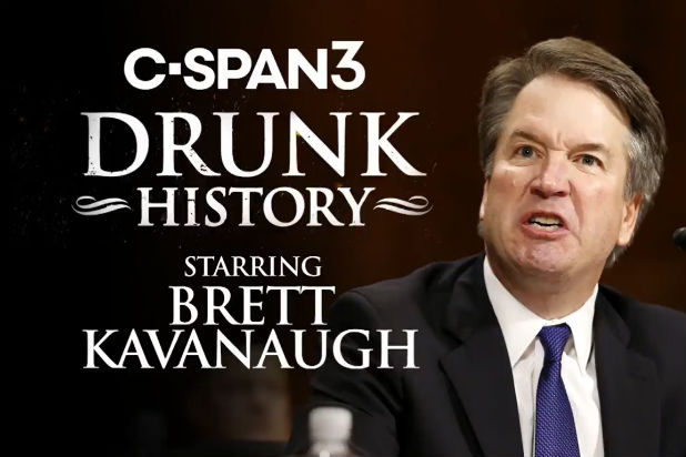 Colbert Impeachment Hearing Trump Dunk History Brett Kavanaugh