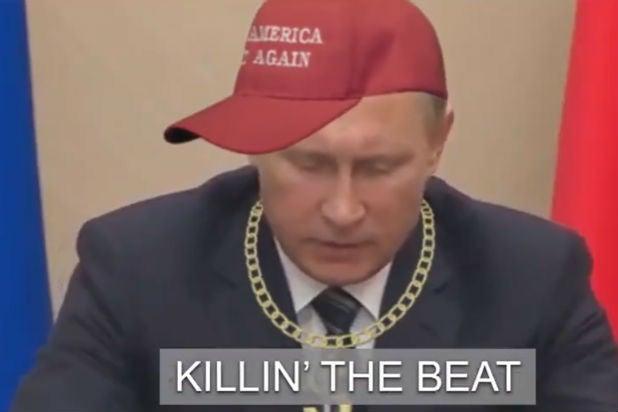 Colbert MAGA Challenge Trump Putin
