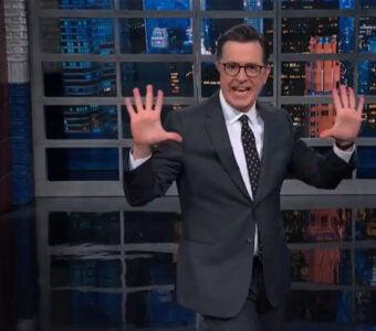 Colbert Trump Impeachment Hearing Pizzazz