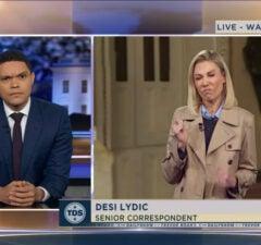 Daily Show Trevor Noah Desi Lydic FartGate
