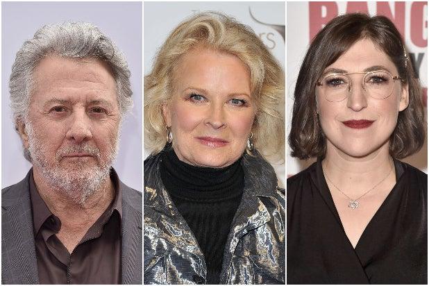 Dustin Hoffman Candice Bergen Mayim Bialik