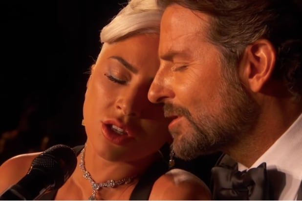 Lady Gaga and Bradley Cooper Shallow Oscars