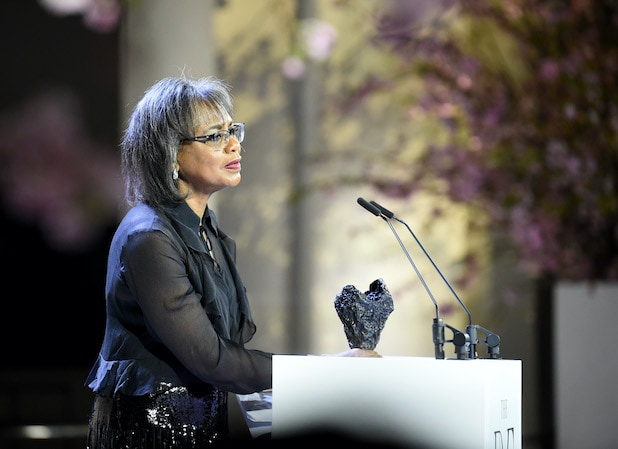 Anita Hill at 10th Annual DVF Awards