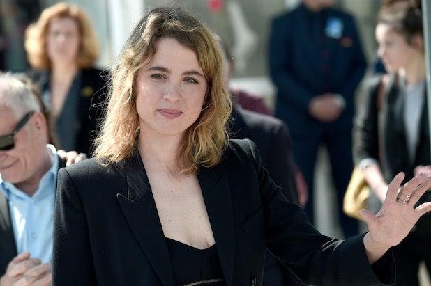 Adèle Haenel at Cannes