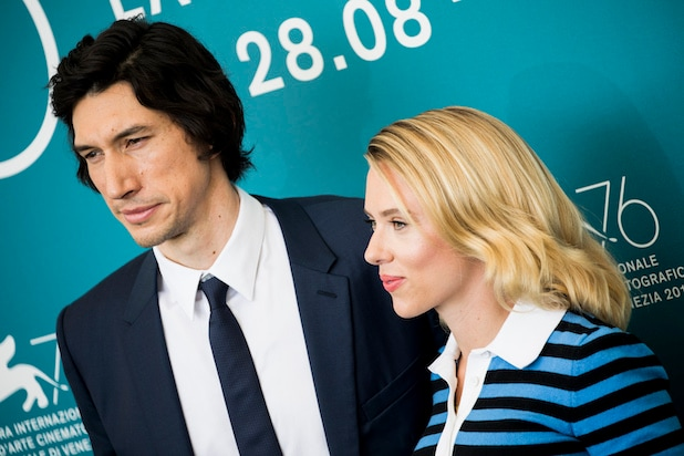 Adam Driver Scarlett Johansson Marriage Story