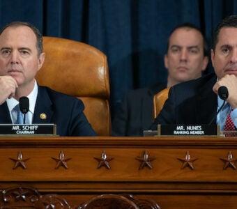 Adam Schiff, Devin Nunes at impeachment inquiry hearing