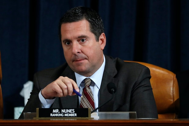 House Intelligence Committee ranking member Devin Nunes