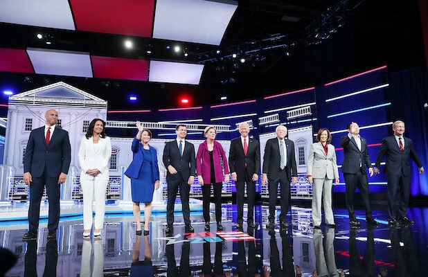 Fifth Democratic presidential debate in Atlanta, hosted by MSNBC/Washington Post