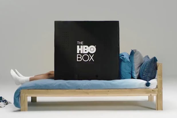 HBO Promotes Cardboard Box for College Kids to Stream in Peace
