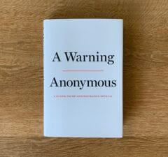 'A Warning book'