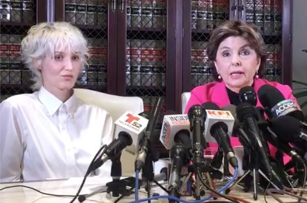 Jane Doe, Gloria Allred press conference