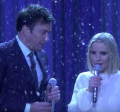 Jimmy Fallon and Kristen Bell perform 'The History of Disney Songs'