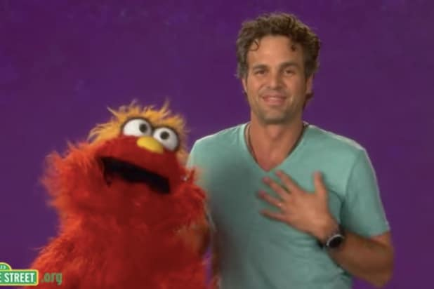 Mark Ruffalo Sesame Street