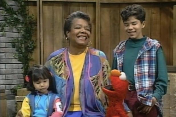 Maya Angelou Sesame Street