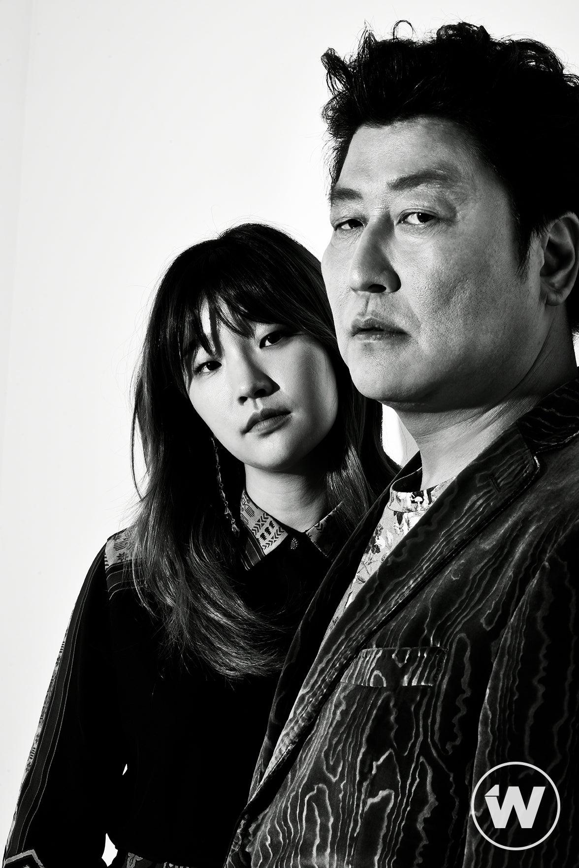 So-dam Park and Kang-ho Song, Parasite