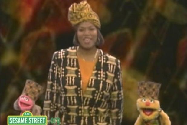 Queen Latifah Sesame Street