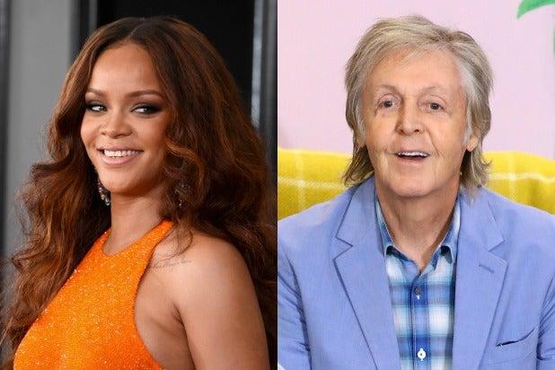 Rihanna Paul McCartney