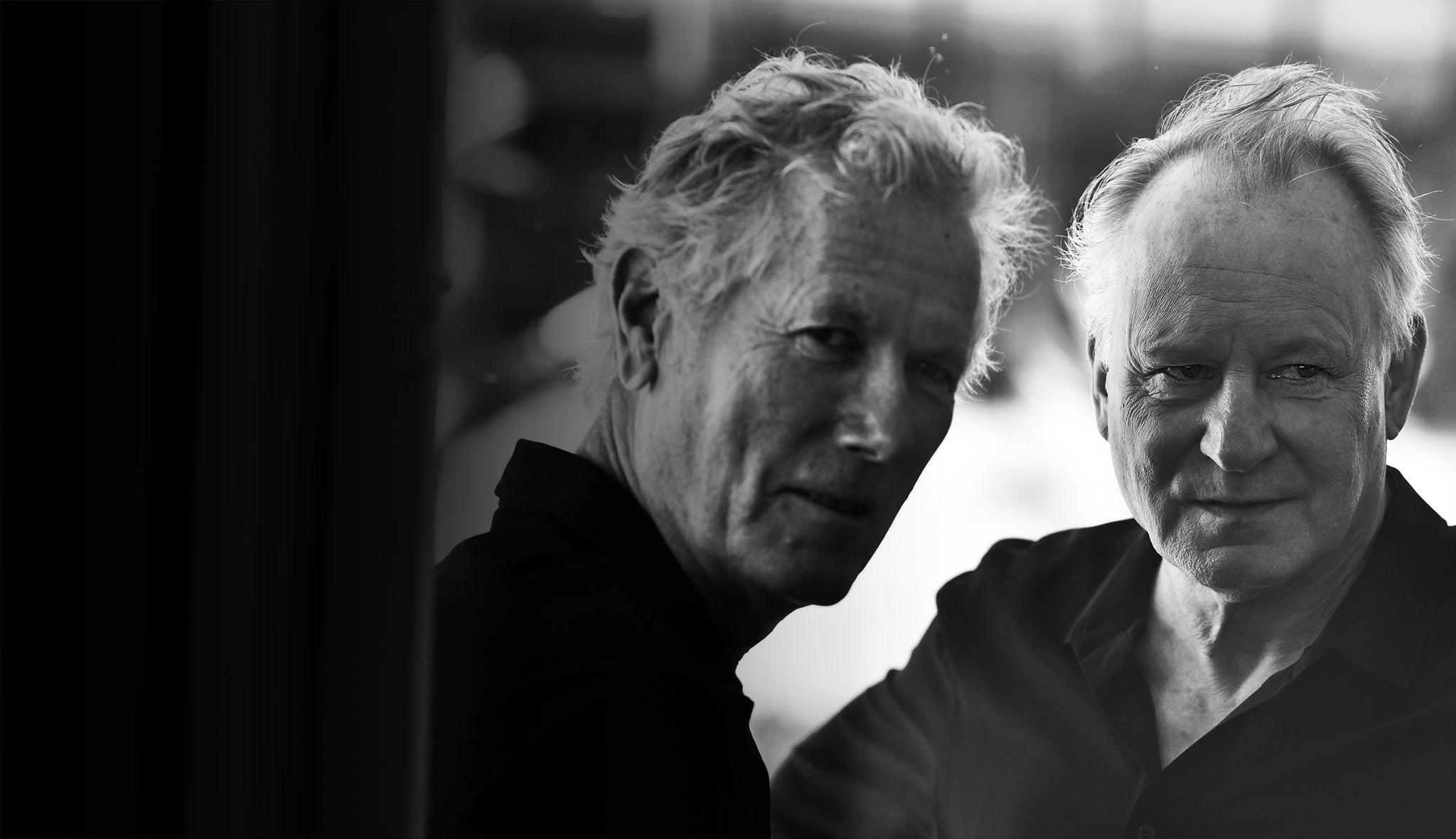 Stellan Skarsgard and Hans Pettre Moland