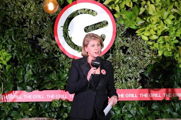 Sharon Waxman at the Gaming Grill 2019