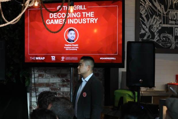 Yoshio Osaki at the Gaming Grill 2019