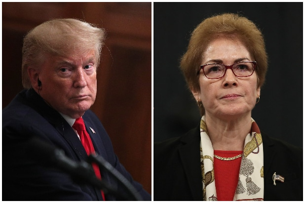 Donald Trump, Marie Yovanovitch