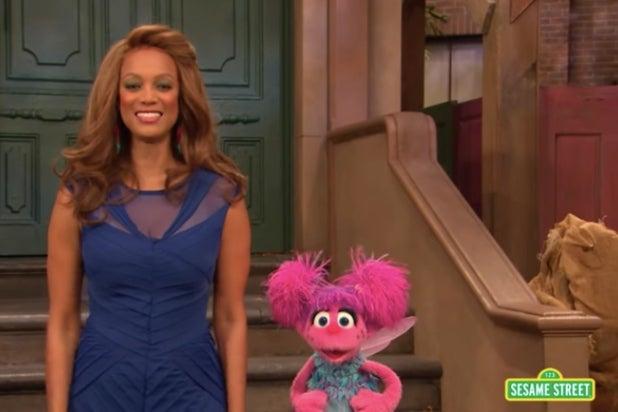 Tyra Banks Sesame Street