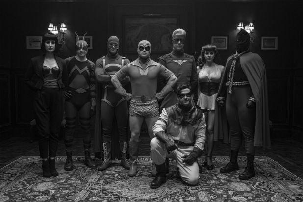 Watchmen Minutemen Group Photo HBO Series