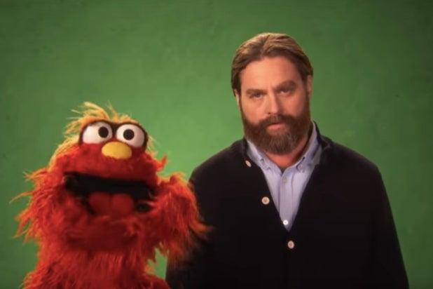 Zach Galifianakis Sesame Street