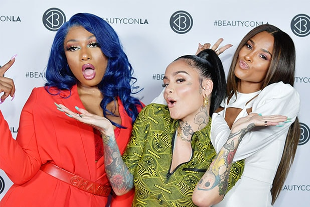 Megan Thee Stallion, Kehlani and Ciara at beautycon