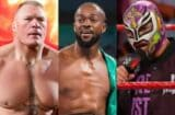 brock lesnar kofi kingston rey mysterio