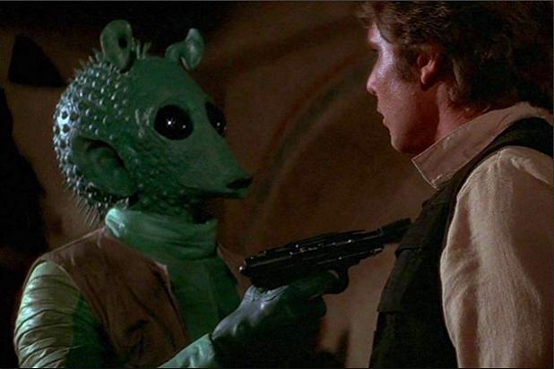 Star Wars Greedo Han Solo