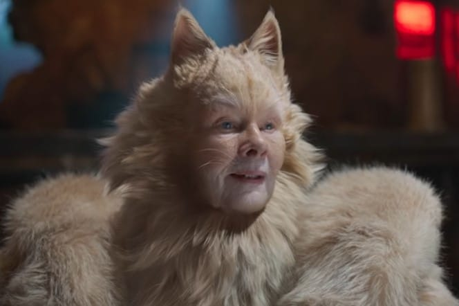 Judi Dench Cats 2019 Old Deuteronomy