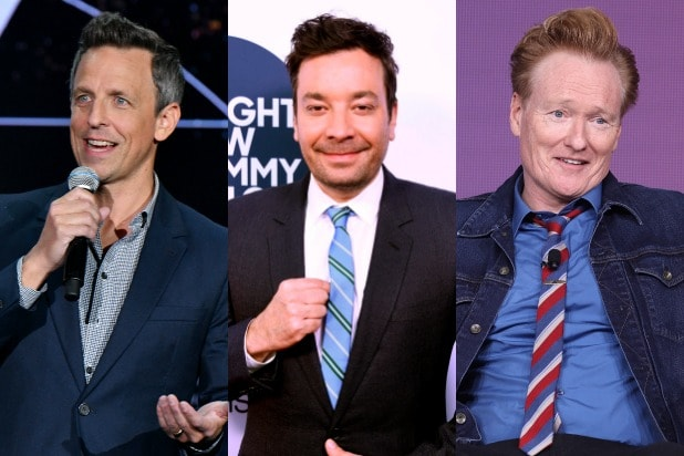 seth meyers jimmy fallon conan