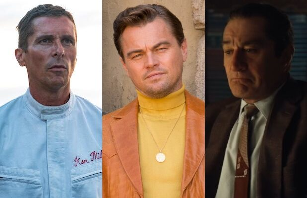 Ford v Ferrari, Once Upon a Time in Hollywood, The Irishman
