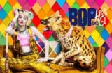 Birds of Prey Harley Quinn and a Hyena