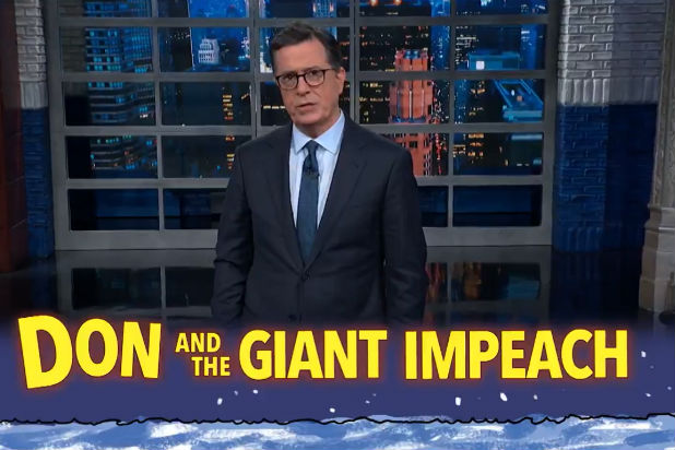 Colbert Articles of Impeachment Trump