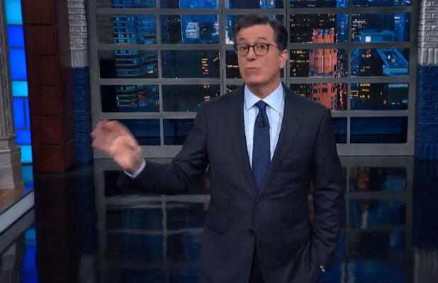 Colbert Trump Golden Globes IG Report Collusion