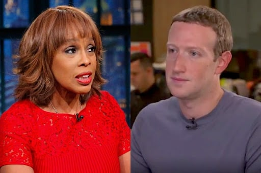 Gayle King Mark Zuckerberg