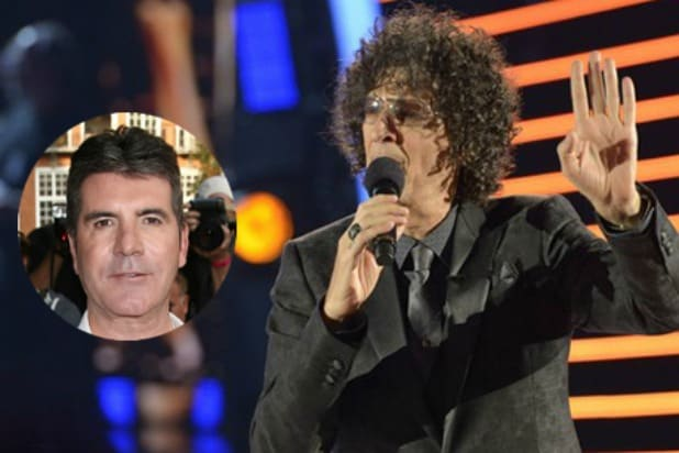 Howard Stern Simon Cowell AGT