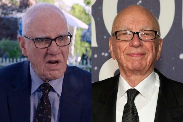 Malcolm McDowell Rupert Murdoch Bombshell