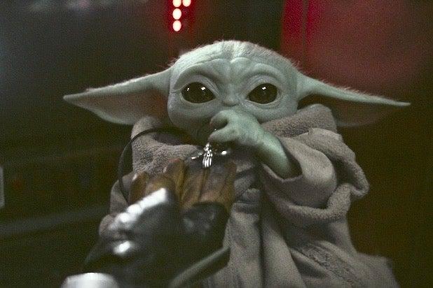 Mandalorian Baby Yoda 2