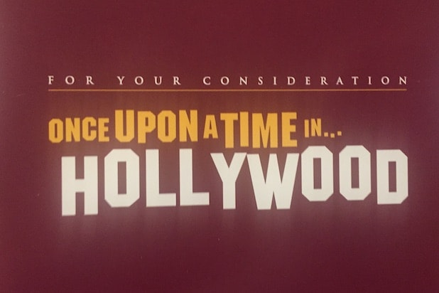 Once Upon a Time in Hollywood screener