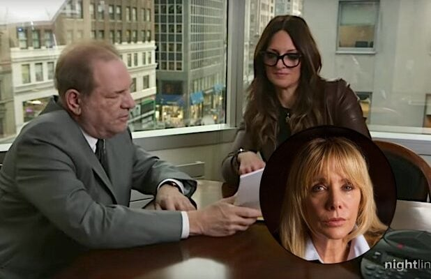 Harvey Weinstein Donna Rotunno Rosanna Arquette