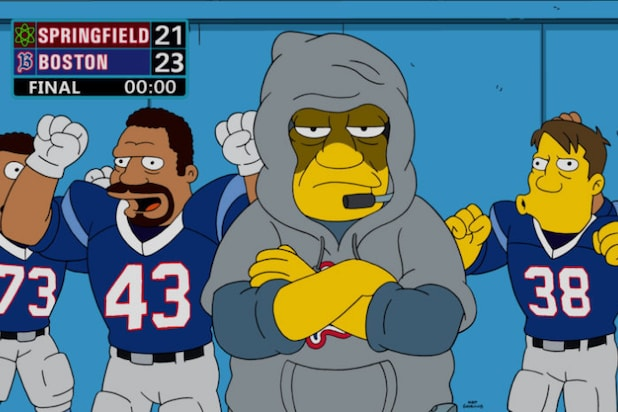 The Simpsons football
