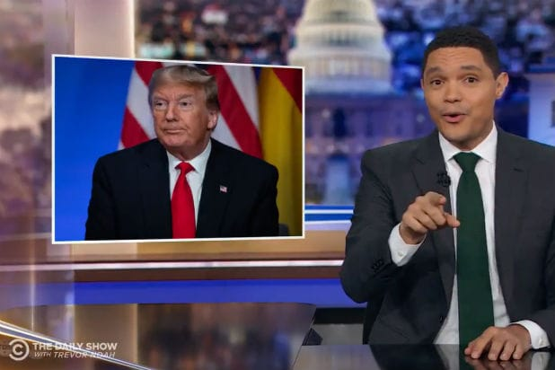 Trevor Noah Loves How NATO Leaders Who Mocked Trump Are 'Gossipy Bitches Just Like the Rest of Us' (Video)