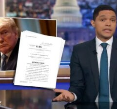 Trevor Noah Trump Impeachment Daily Show