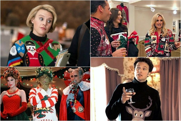 20 Ugly Christmas Sweaters on TV and in Film From