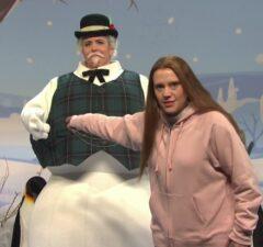 snl saturday night live kate mckinnon greta thunberg sam the snowman aidy bryant